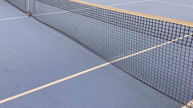 Tennishalle wieder geöffnet!